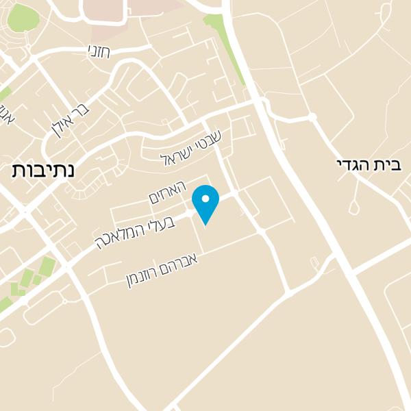 מפה של רשת לחם פרנה