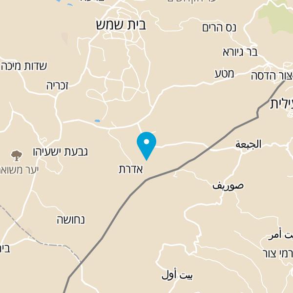 מפה של פינה בעמק