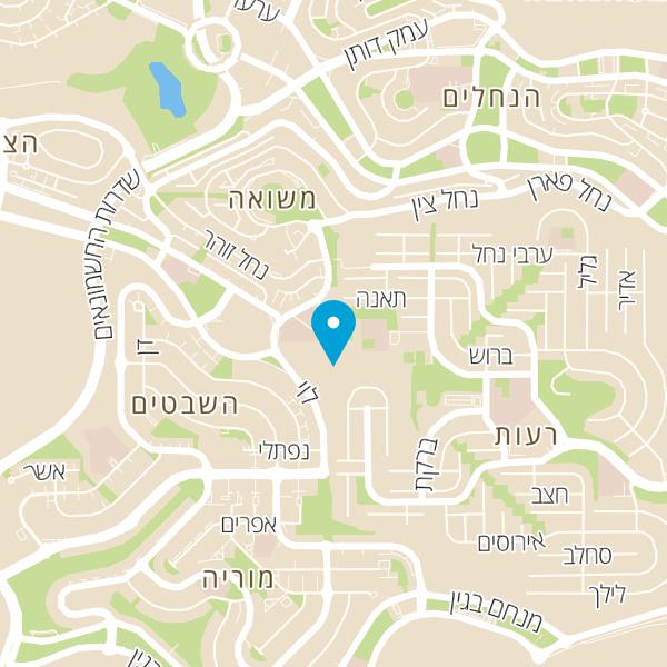 מפה של פלח הרימון