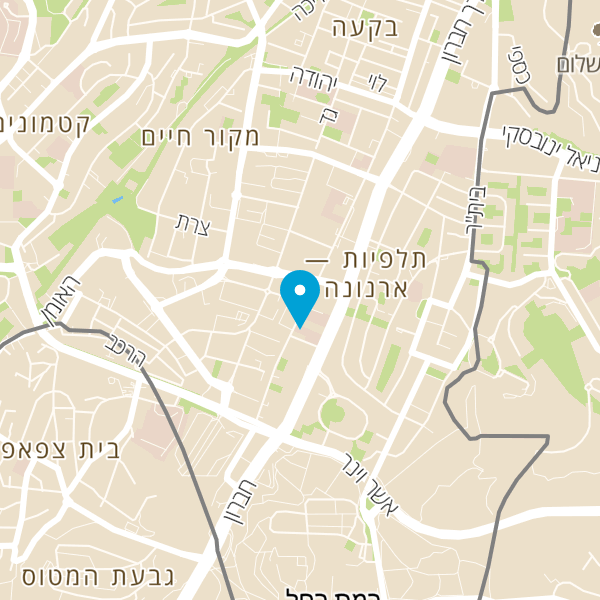 מפה של אולם תצוגה אופל