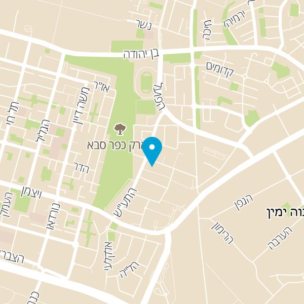מפה של חומוס בהדונס בית הפעמון