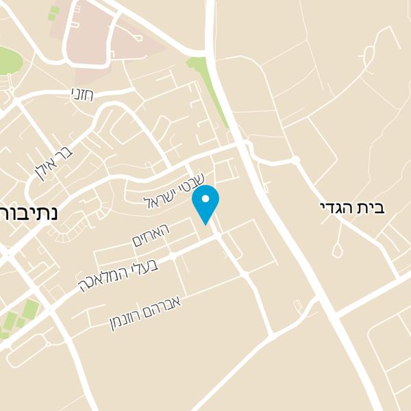 מפה של מתן חביביאן משרד עורכי דין