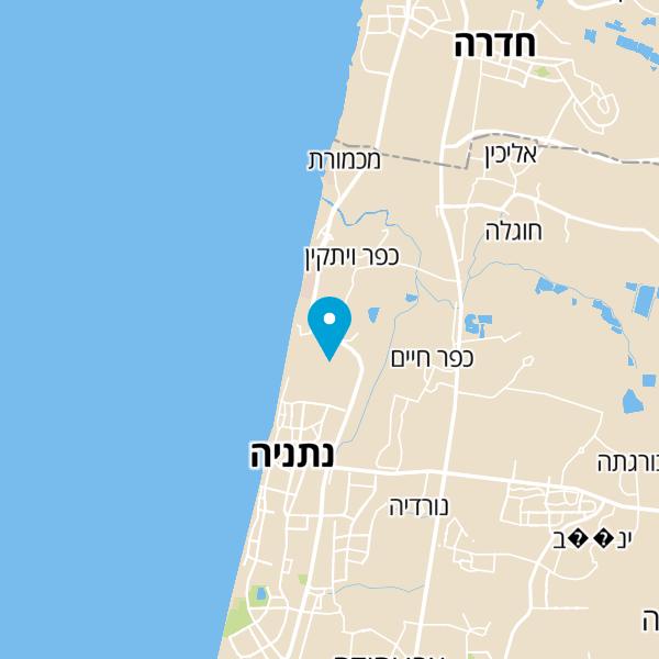 מפה של מרכז ביתנ'ס