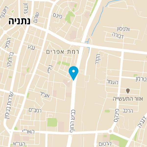 מפה של פז סנטר