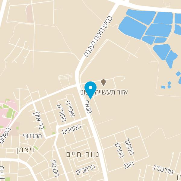 מפה של מוסך עילית