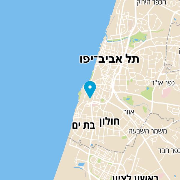 מפה של א.א אבי