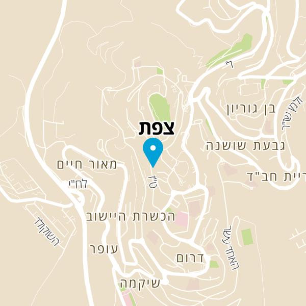 מפה של אסתר ויהונתן