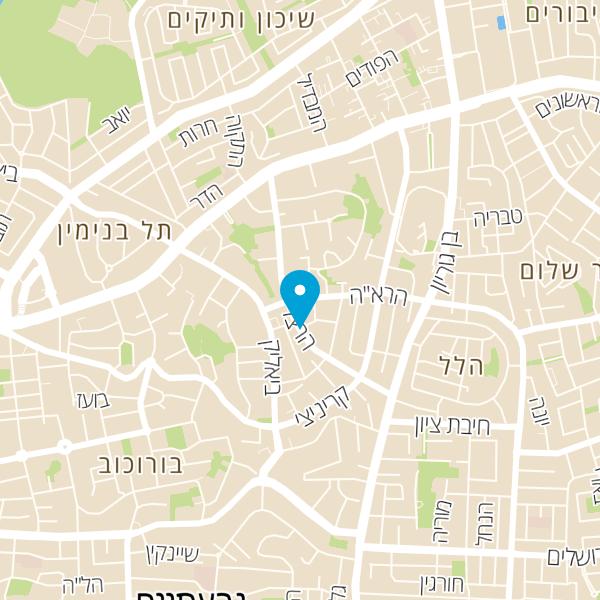 מפה של אלי אביב BARBER SHOP