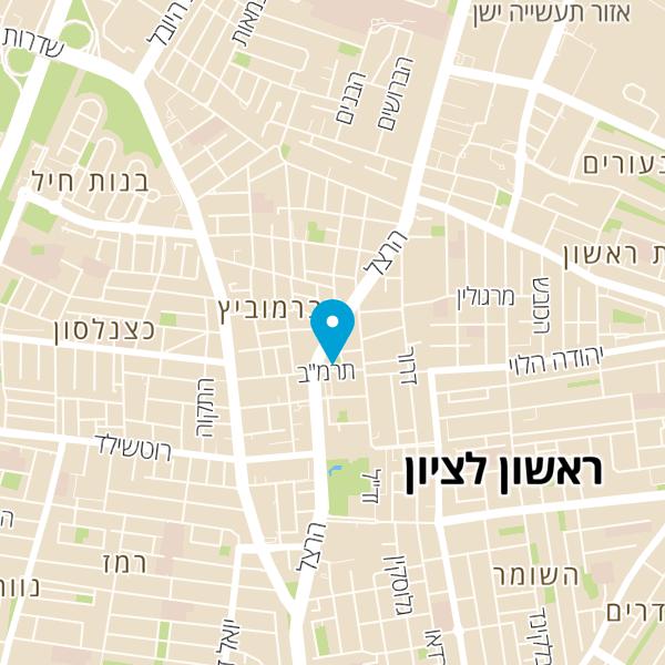 מפה של יהודל'ה בורגר בר ישראלי