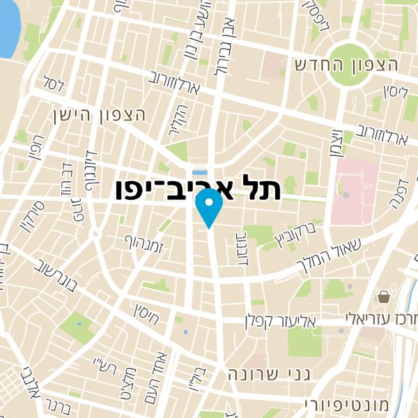 מפה של המוסד