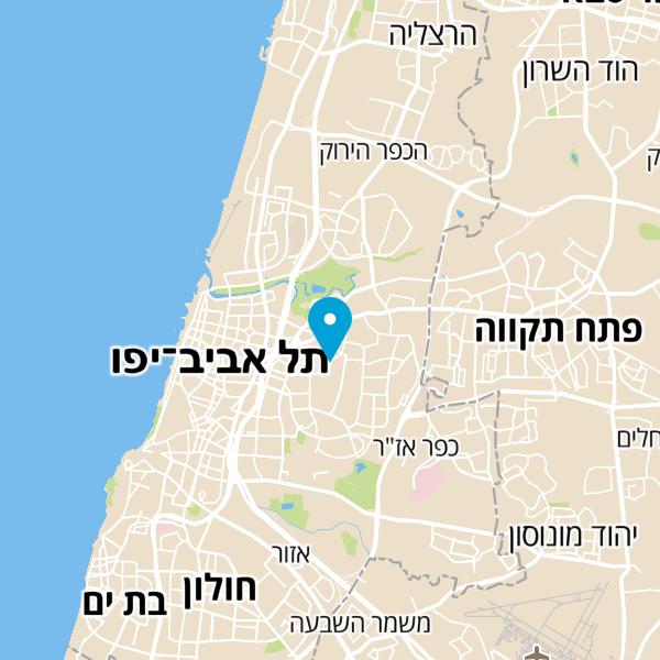 מפה של NLP Kids Academy