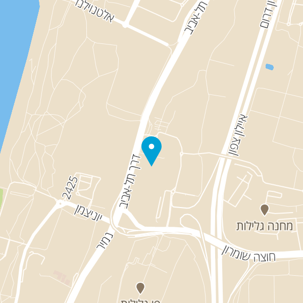 מפה של בלאק בר בורגר