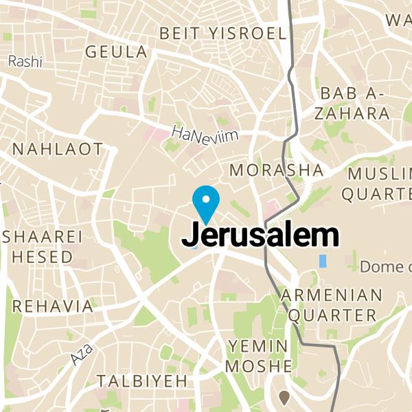 מפה של Kadosh Since 1967
