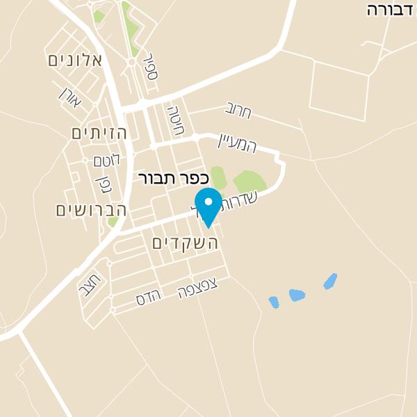 מפה של בית השקד