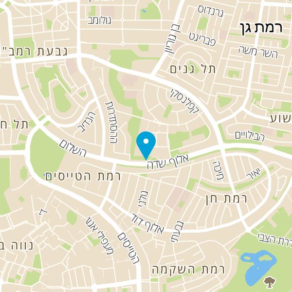 מפה של Cal כרטיסי אשראי לישראל