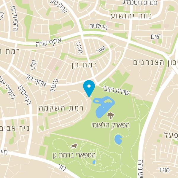 """מפה של ד""""ר שנירר יצחק"""