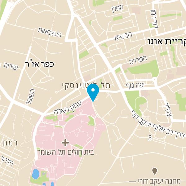 """מפה של ד""""ר שושי גרינברגר"""