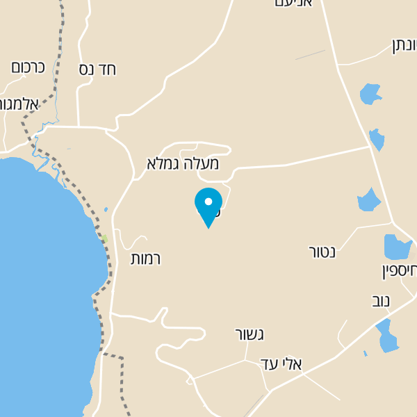 מפה של ג'יפ אמיתי