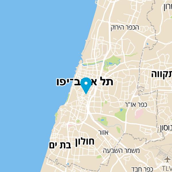 מפה של תחנת לחם