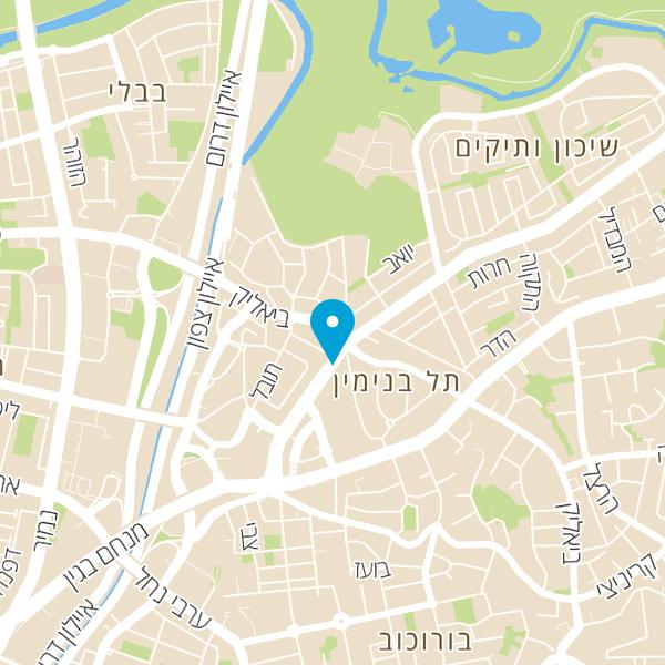 מפה של המעבדה המרכזית טאס ישראל