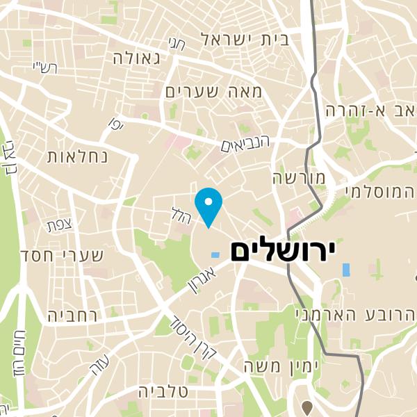 מפה של זוליס פאב zollis