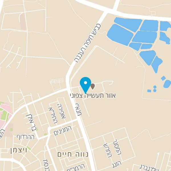 מפה של אוטו סרוויס מוסך מכונאות לרכב