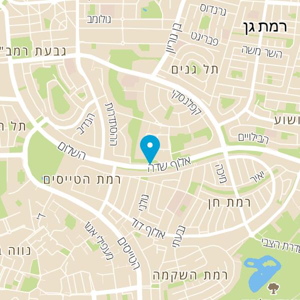 מפה של מוסך אחים לוי גבעתיים