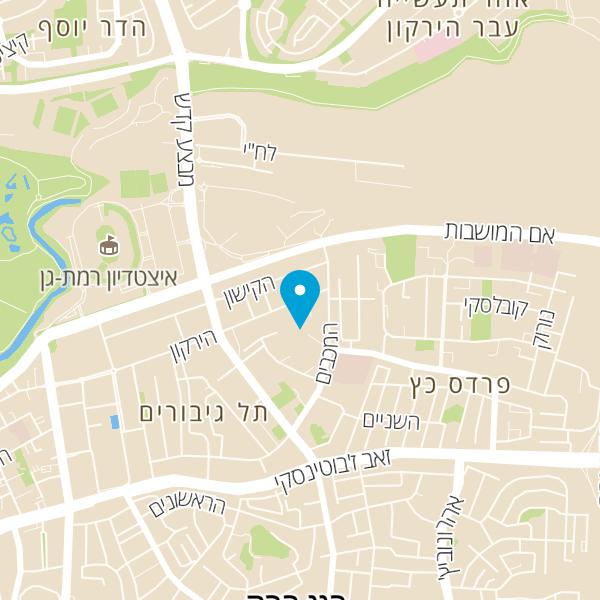 מפה של חברת יעל תקשורת