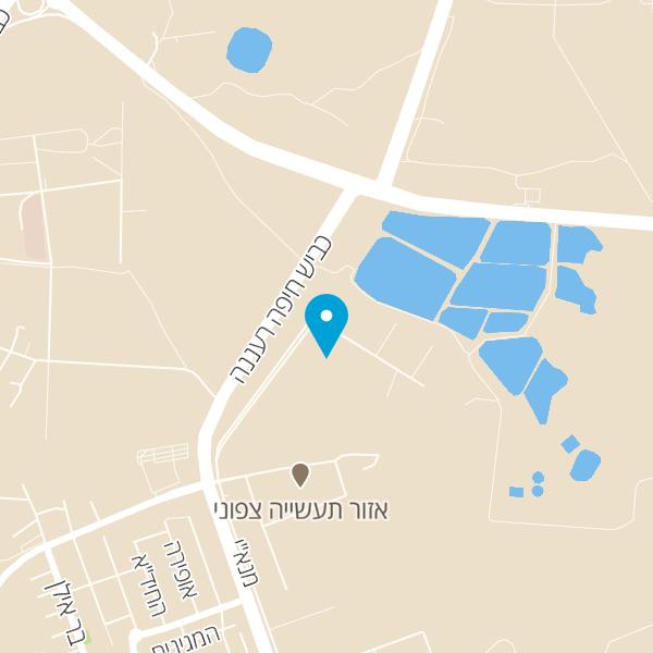 מפה של על הגל שרותי רכב