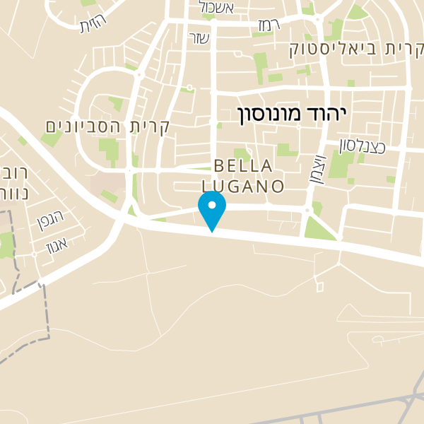 מפה של B2 יהוד