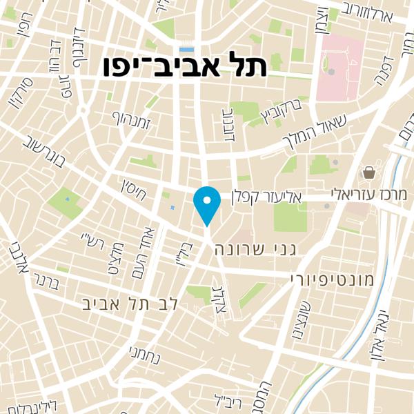 מפה של הדיינר של גוצ'ה