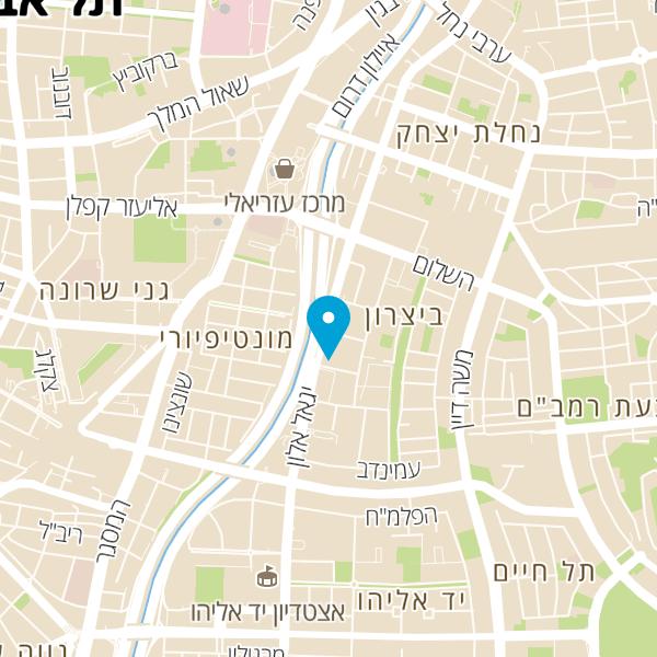 מפה של מסעדת BBB