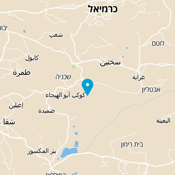 מפה של בואכה יודפת