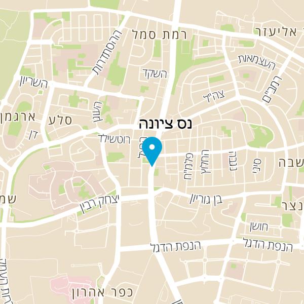 מפה של המרכז