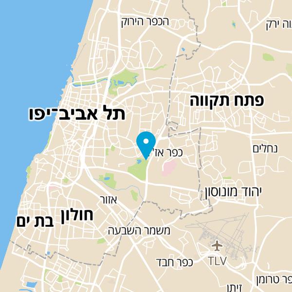 מפה של מאמנת Nlp וקואצ'רית