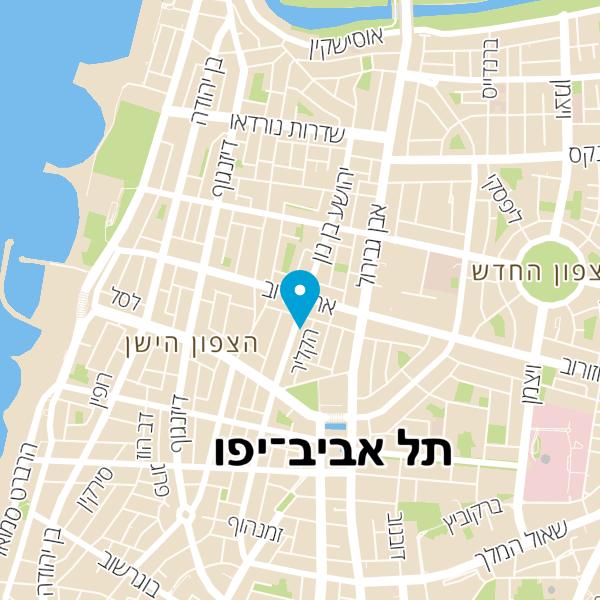מפה של Eazy cafe