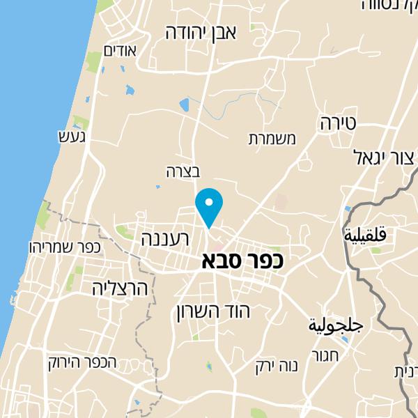 מפה של B Center