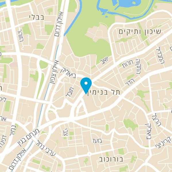 מפה של מאפית הדקל