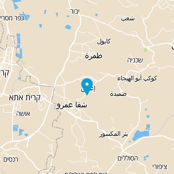 מפה של פיצוחי באסם כאבול