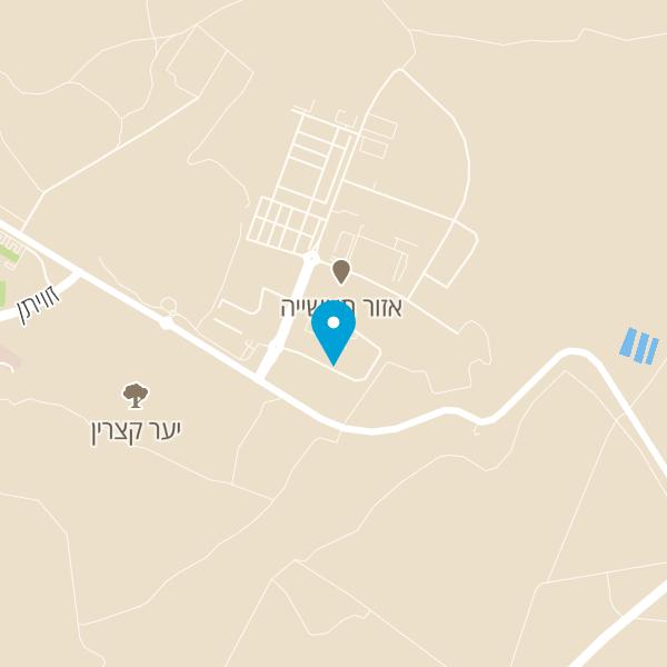 מפה של רק חומוס