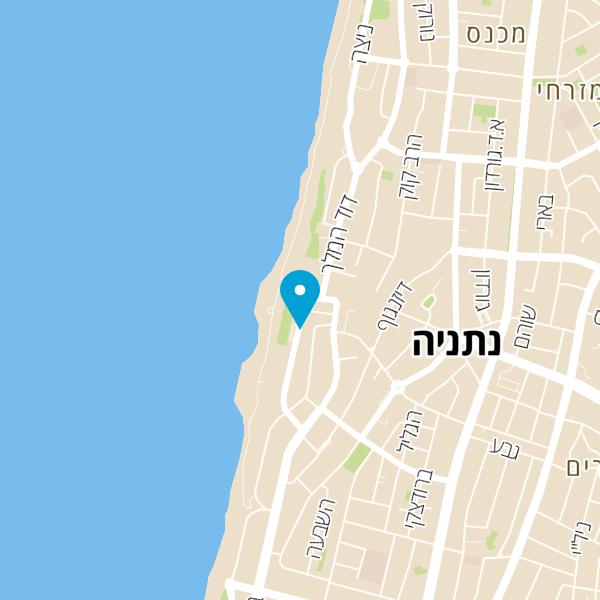 מפה של Red Burger Bar