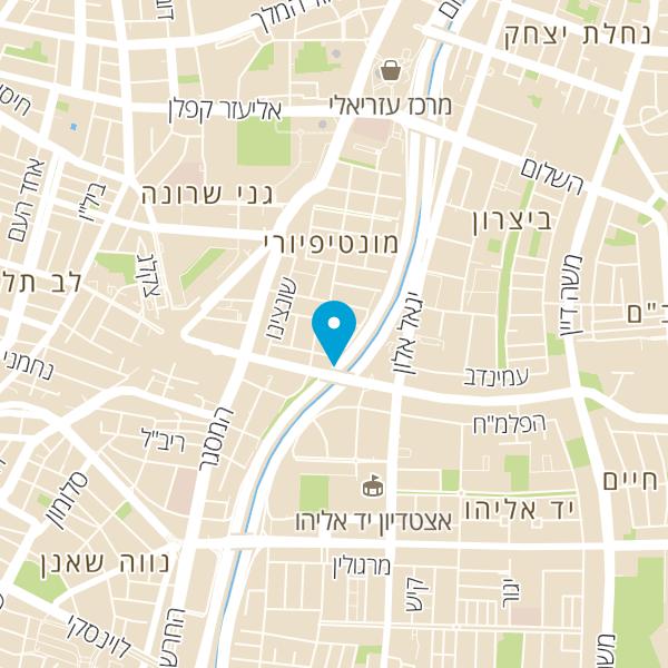 מפה של חניון רבניצקי