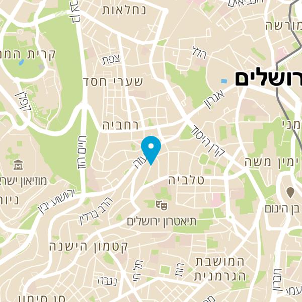 מפה של קפה יהושע