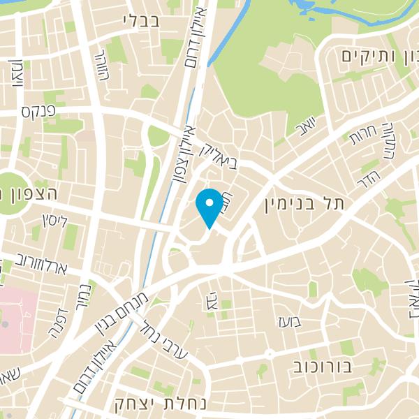 מפה של צמיגי רמת גן כדורי