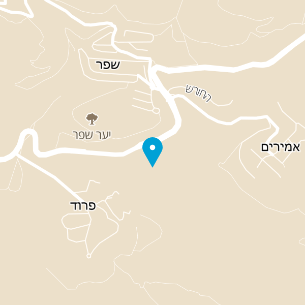מפה של מלון אמירי הגליל
