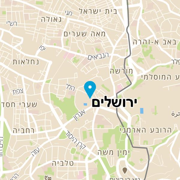 מפה של תל אביב בר