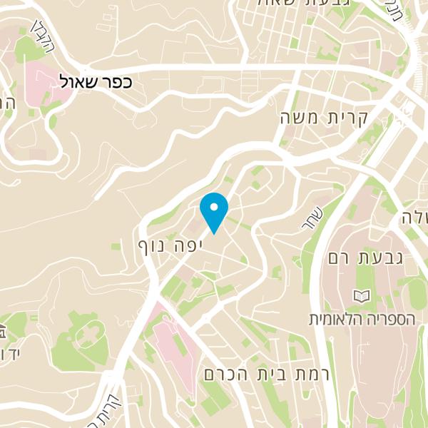 מפה של דניה קפה בכיכר