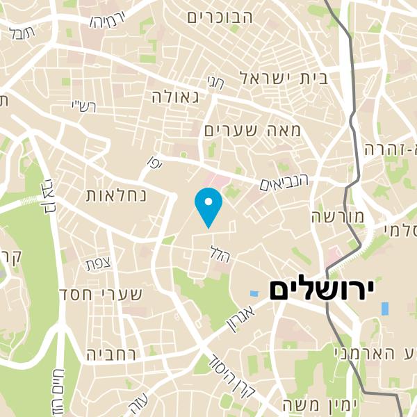 מפה של רונן ג'מבה תוף ירושלמי
