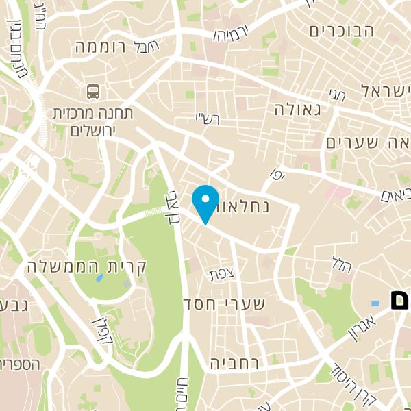 מפה של Y cafe