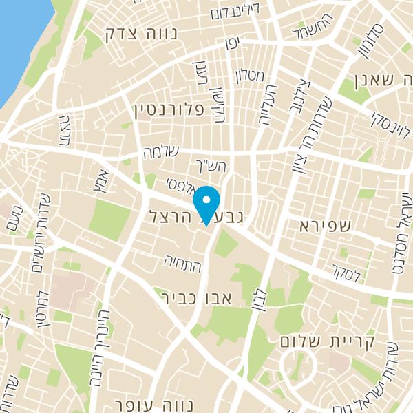 מפה של ענבר פריים סטודיו לקרמיקה